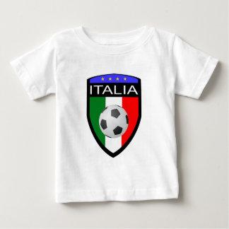 Remiendo de la bandera de Italia/de Italia - con Playera Para Bebé