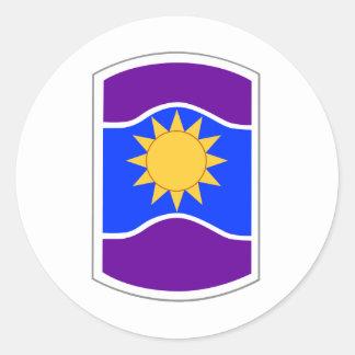 Remiendo de la brigada de 361 asuntos civiles pegatina redonda