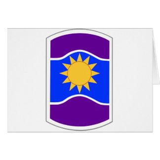 Remiendo de la brigada de 361 asuntos civiles tarjeta de felicitación