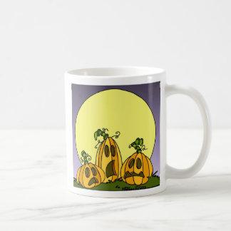Remiendo de la calabaza taza de café