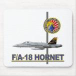 Remiendo de la escuadrilla de VFA-192 GOLDENDRAGON Tapetes De Raton