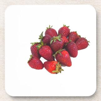 Remiendo de la fresa posavasos de bebidas