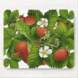 Remiendo de la fresa tapete de raton