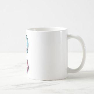 remiendo de la marina de guerra vp45 taza de café