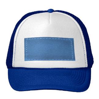 Remiendo de la mirada del cuero del vintage - añad gorras