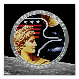 Remiendo de la misión de Apolo 17 Impresiones