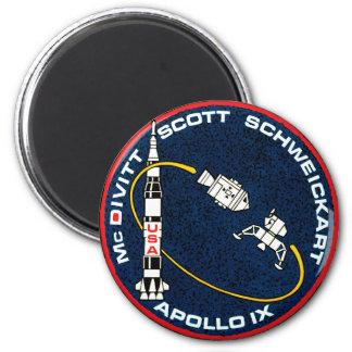 Remiendo de la misión de Apolo 9 Imanes