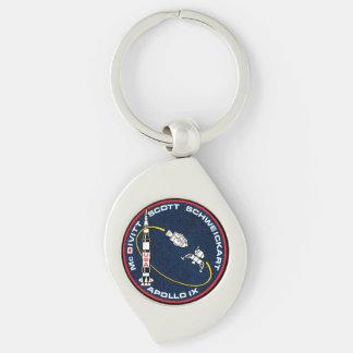 Remiendo de la misión de Apolo 9 Llaveros