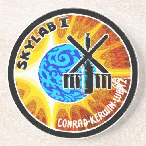 Remiendo de la misión de Skylab 1 Posavasos Diseño