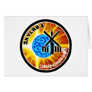 Remiendo de la misión de Skylab 1 Tarjeta De Felicitación