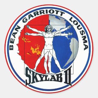 Remiendo de la misión de Skylab 2 Etiqueta Redonda