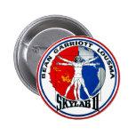 Remiendo de la misión de Skylab 2 Pin Redondo 5 Cm