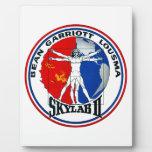Remiendo de la misión de Skylab 2 Placa De Plastico