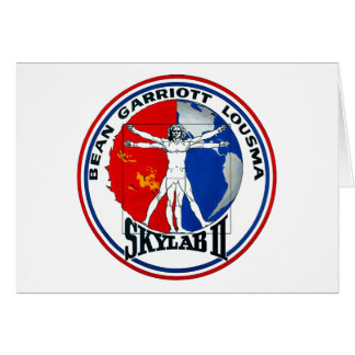 Remiendo de la misión de Skylab 2 Tarjeta De Felicitación