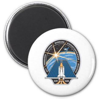 Remiendo de la misión del STS 115 Imán Redondo 5 Cm