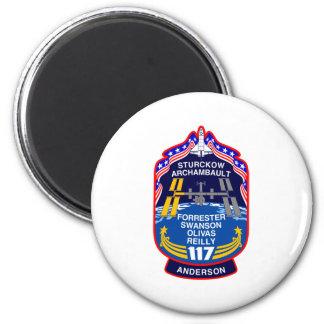 Remiendo de la misión del STS 117 Imán Redondo 5 Cm