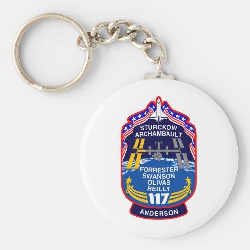 Remiendo de la misión del STS 117 Llaveros Personalizados