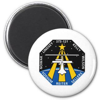 Remiendo de la misión del STS 121 Imán Redondo 5 Cm