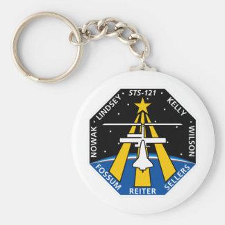 Remiendo de la misión del STS 121 Llavero Redondo Tipo Pin