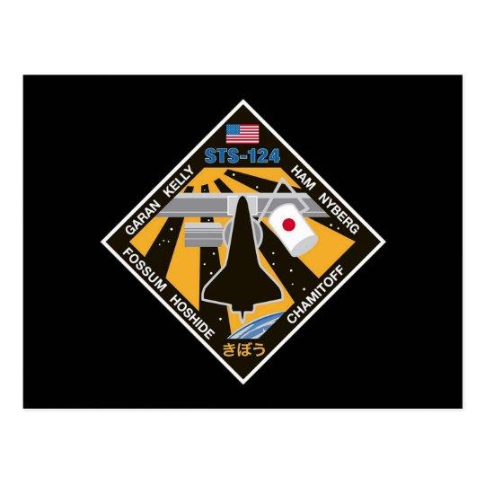 Remiendo de la misión del STS 124 Postales
