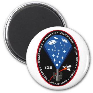 Remiendo de la misión del STS 125 Imán Redondo 5 Cm
