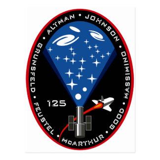 Remiendo de la misión del STS 125 Postal