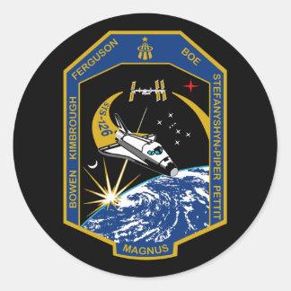 Remiendo de la misión del STS 126 Etiqueta Redonda