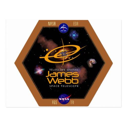 Remiendo de la NASA del telescopio espacial de Tarjetas Postales