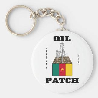 Remiendo del aceite del Camerún, llavero del campo