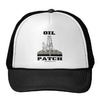 Remiendo del aceite, gorra del campo petrolífero,