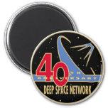 Remiendo del aniversario de la red 40.a del espaci imán