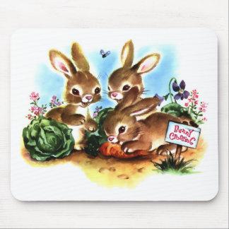 Remiendo del conejito alfombrilla de ratón