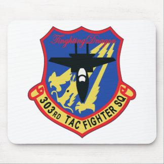 Remiendo del escuadrón de caza de JASDF 303SQ Tapete De Ratones