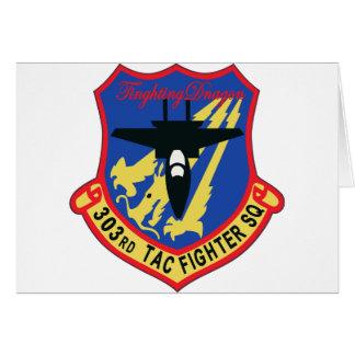 Remiendo del escuadrón de caza de JASDF 303SQ Felicitaciones