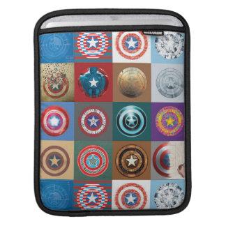 Remiendo del escudo del aniversario de capitán fundas para iPads