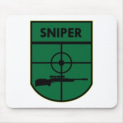 Remiendo del francotirador tapete de ratones