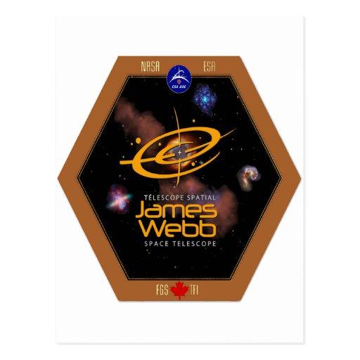 Remiendo del telescopio espacial CSA de James Webb Postal