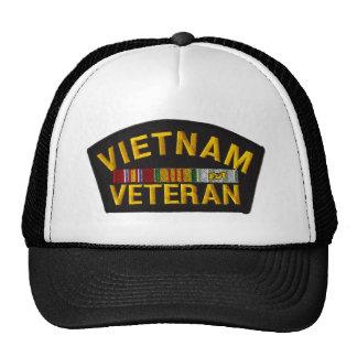 Remiendo del veterano de Vietnam en el gorra
