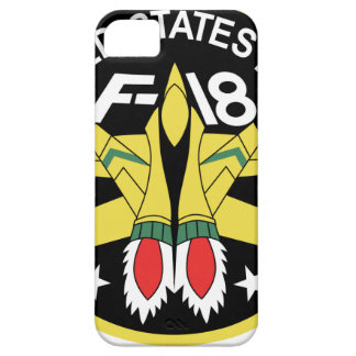 Remiendo F-18 iPhone 5 Case-Mate Coberturas