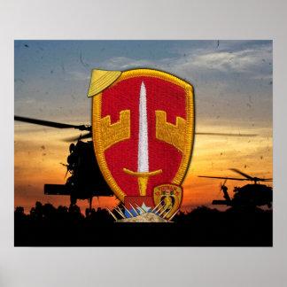 Remiendo militar de la guerra de Vietnam de los Póster