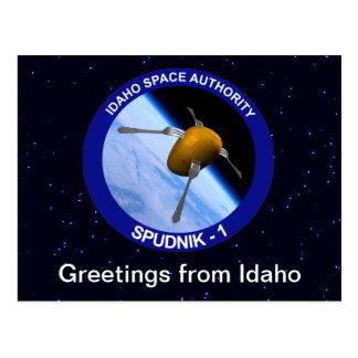 Remiendo por satélite de la misión de Idaho Tarjetas Postales