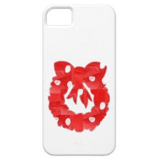 Remiendo rojo n Baloons de la tela de seda de la g iPhone 5 Carcasa