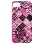 Remiendo rosado 2 iPhone 5 cárcasa