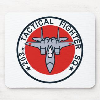 remiendo táctico del combatiente 203SQ Tapete De Ratón