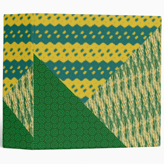 Remiendos de la carpeta verde y anaranjada