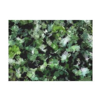 Remiendos de las bacterias que atacan una planta impresión en tela