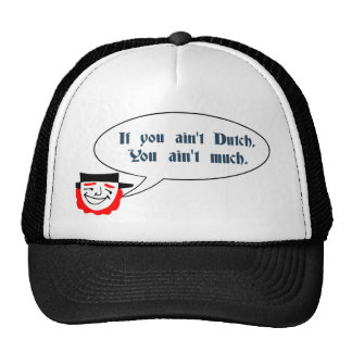 Remiendos que dicen el gorra del camionero