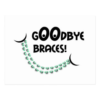 Reminder Orthodontic Appointment Goodbye Braces Gr Postcard