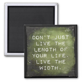 Reminder to Live 2 Inch Square Magnet