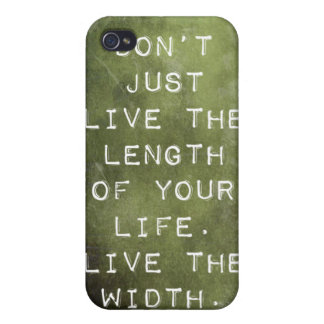 Reminder to Live iPhone 4/4S Cover